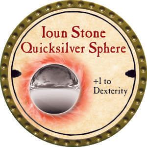 Ioun Stone Quicksilver Sphere - 2014 (Gold) - C1