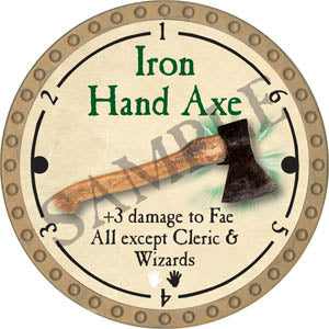 Iron Hand Axe - 2017 (Gold)