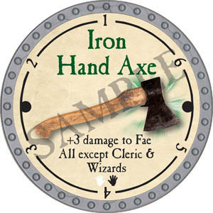 Iron Hand Axe - 2017 (Platinum)