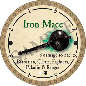 Iron Mace - 2017 (Gold)