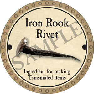 Iron Rook Rivet - 2017 (Gold) - C37
