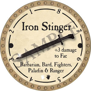 Iron Stinger - 2017 (Gold)