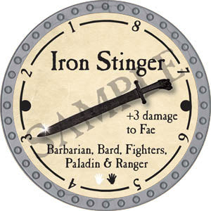 Iron Stinger - 2017 (Platinum)