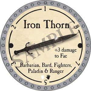 Iron Thorn - 2017 (Platinum)