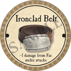 Ironclad Belt - 2017 (Gold)