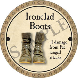 Ironclad Boots - 2017 (Gold)
