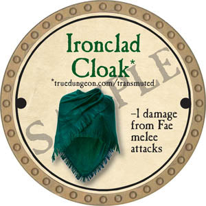Ironclad Cloak - 2017 (Gold)