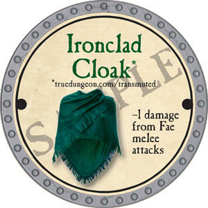 Ironclad Cloak - 2017 (Platinum)