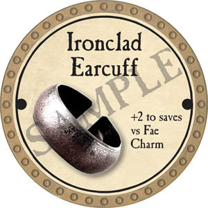 Ironclad Earcuff - 2017 (Gold) - C49