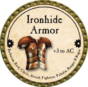 Ironhide Armor - 2013 (Gold)