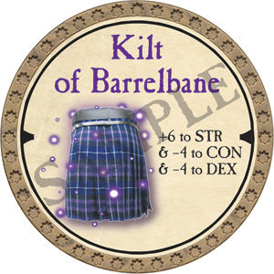 Kilt of Barrelbane - 2019 (Gold) - C12