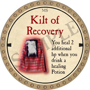 Kilt of Recovery - 2020 (Gold)