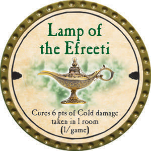Lamp of the Efreeti - 2014 (Gold) - C61