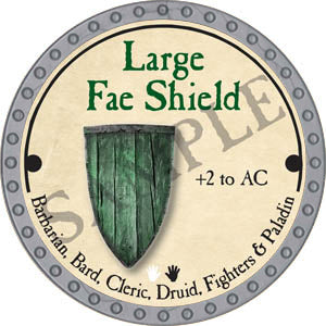 Large Fae Shield - 2017 (Platinum)
