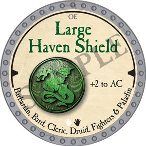 Large Haven Shield - 2019 (Platinum)