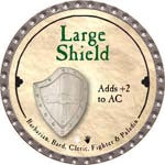 Large Shield - 2008 (Platinum)