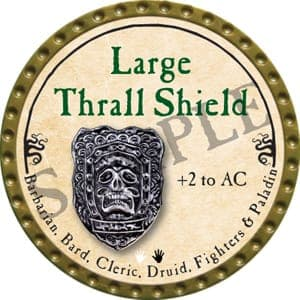 Large Thrall Shield - 2016 (Gold)