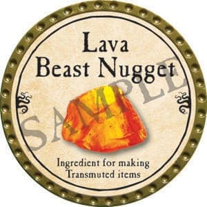 Lava Beast Nugget - 2016 (Gold) - C37