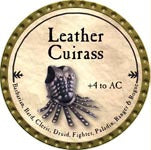 Leather Cuirass - 2009 (Gold)