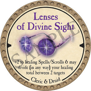 Lenses of Divine Sight - 2019 (Gold) - C21