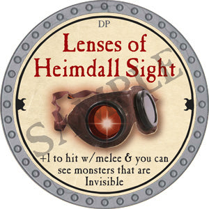 Lenses of Heimdall Sight - 2018 (Platinum) - C37