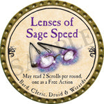 Lenses of Sage Speed - 2016 (Gold) - C3