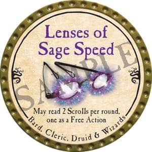 Lenses of Sage Speed - 2016 (Gold)