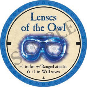 Lenses of the Owl - 2020 (Light Blue) - C26