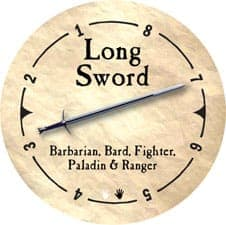 Long Sword - 2005b (Wooden) - C37