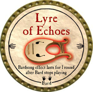 Lyre of Echoes - 2012 (Gold) - C37