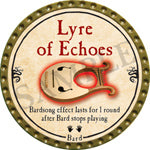 Lyre of Echoes - 2016 (Gold) - C37