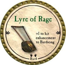 Lyre of Rage - 2009 (Gold)