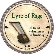 Lyre of Rage - 2009 (Platinum) - C37