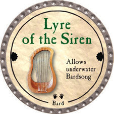 Lyre of the Siren - 2011 (Platinum) - C37