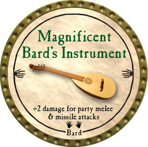 Magnificent Bard's Instrument - 2012 (Gold) - C37
