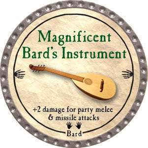 Magnificent Bard's Instrument - 2012 (Platinum) - C37