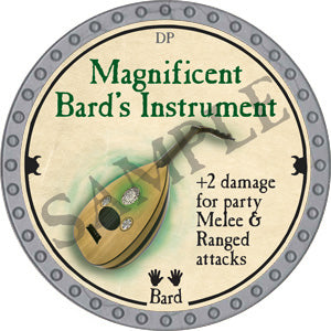 Magnificent Bard's Instrument - 2018 (Platinum) - C37
