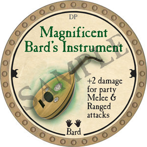 Magnificent Bard's Instrument - 2018 (Gold)