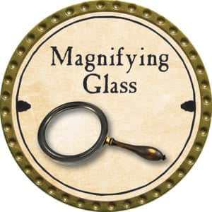 Magnifying Glass - 2014 (Gold) - C37