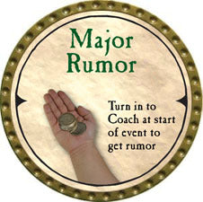 Major Rumor (UC) - 2007 (Gold) - C37