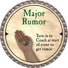 Major Rumor (UC) - 2007 (Platinum) - C37