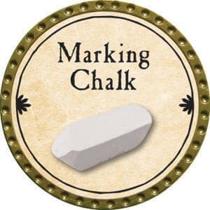 Marking Chalk - 2015 (Gold)