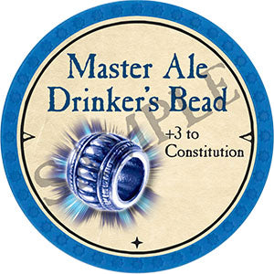 Master Ale Drinker's Bead - 2021 (Light Blue)