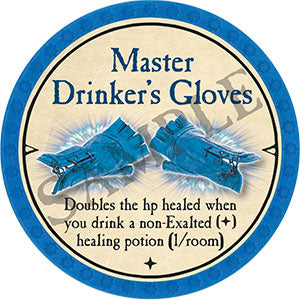 Master Drinker's Gloves - 2021 (Light Blue) - C007