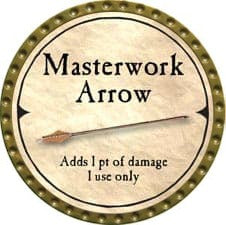 Masterwork Arrow - 2007 (Gold)