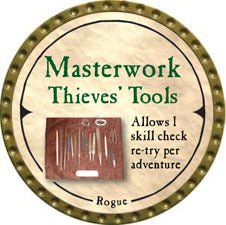 Masterwork Thieves' Tools - 2007 (Gold)