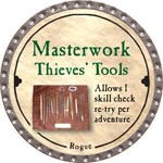 Masterwork Thieves' Tools - 2008 (Platinum)