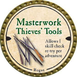 Masterwork Thieves' Tools - 2014 (Gold)