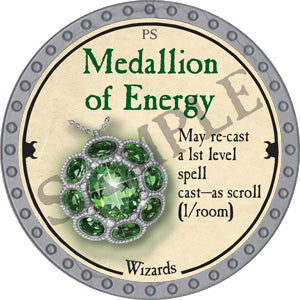 Medallion of Energy - 2018 (Platinum)