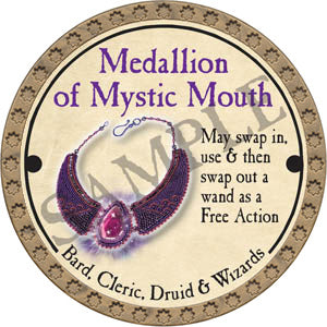 Medallion of Mystic Mouth - 2017 (Gold) - C3